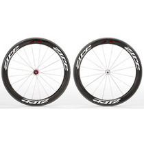 ZIPP 404 Firecrest Carbon Clincher Front 18 spokes Beyond Black (SRAM/Shimano)