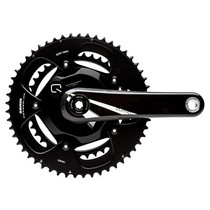 QUARQ RIKEN 10R Road Powermeter Crankset GXP 172.5mm 53-39t (BB not included) 130BDC