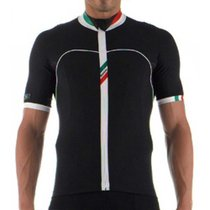 Santini H20 Short Sleeve Jersey black MD