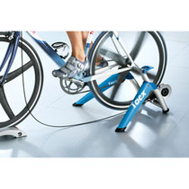 Tacx Satori High power folding magnetic Turbo trainer w/ gelsoft roller blue
