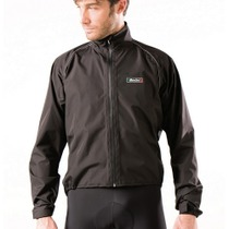 Santini 365 Rain Jacket Black Large