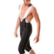 Santini Max Primo 3/4 Bib Short Black Large