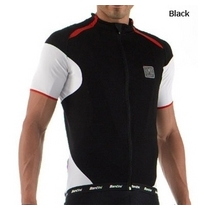 Santini Smart Short Sleeve Jersey Black