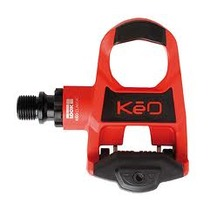 LOOK KEO Classic Pedals Cromo Axle w/ KEO Cleat Red & Black 140g