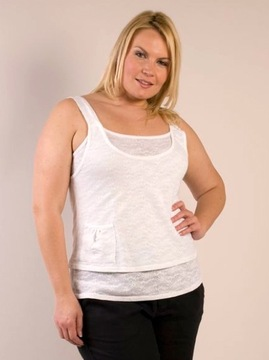 White Vest Top