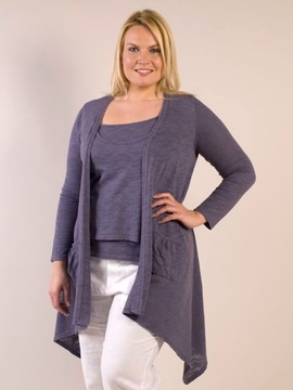 Lavender Waterfall Cardigan