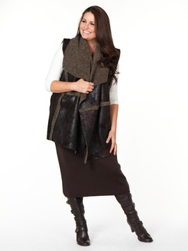 Faux Shearling Gilet