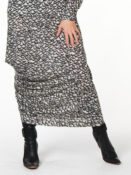 Draped Designer Skirt