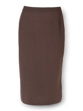 Long Brown Skirt