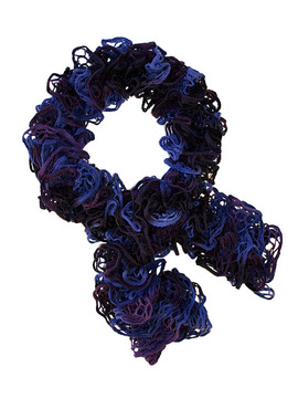 Blueberry Loopy Scarf