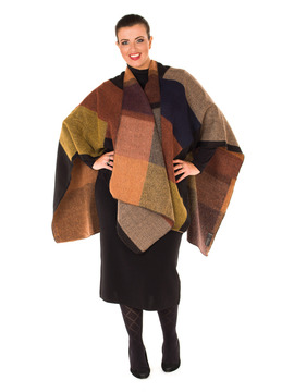 Ladies Wrap Autumn Colours