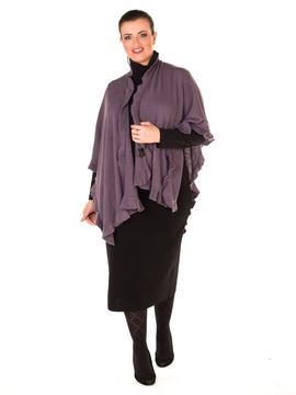 Ladies Wrap In Heather