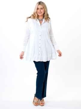 Tailored White Tunic