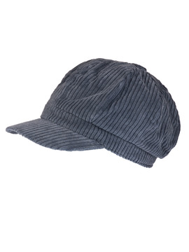 Charcoal Baker Boy Cap