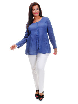 Atlantic Blue Blouse
