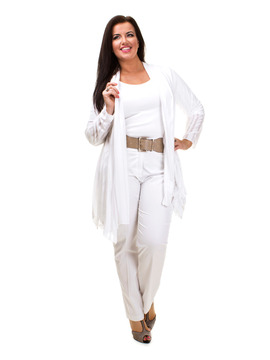 Vetono White Jacket