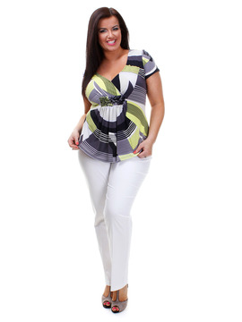 Abstract Wrap Over Top