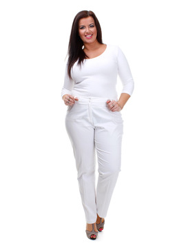 Gelco White Trousers