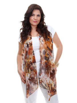 Tivoli Scarf - Brown