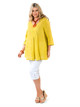 Flax Yellow Tunic