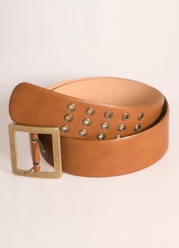 Leather Triple Hole Belt