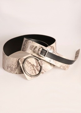 Snake Effect Drop Ring Belt