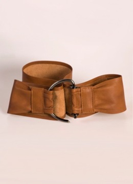 Soft Leather Hook Belt