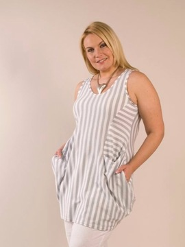 Silver Striped Tunic